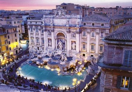 Рим през август